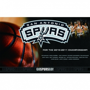 China Sports Flags  San Antonio Spurs Flag on sale