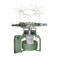 Model TSGE86 Up-Drive Velvet-Ring-Cutting Tubular Knitting Machine