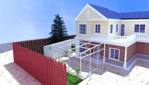 China UV protection fairy garden house on sale