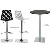 Hire Event Furniture BS15 Nest Swivel Bar Stool  Hire Only