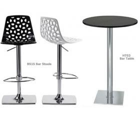 China Hire Event Furniture BS15 Nest Swivel Bar Stool  Hire Only on sale