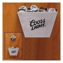 China Coors Light Bottle Cap Catcher and Bottle Opener on sale