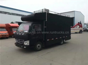 China China Foton Mobile Food Truck Food Vans food truck on sale
