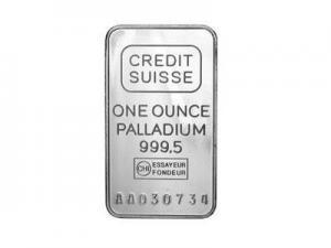 China Buy Bullion Credit Suisse 1 Oz Palladium Bullion Ingot on sale
