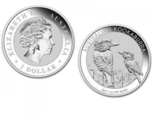 China Buy Bullion 2017 Australian Kookaburra 1 Ounce Silver Bullion Coin, 999 Fine * on sale