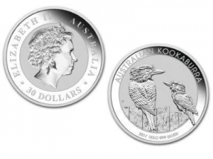 China Buy Bullion 2017 Australian Kookaburra 1 Kilogram Silver Bullion Coin, 999 Fine * on sale