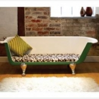 China Living Room Bath Tub Sofa Chaise Longue From Breakfast At Tiffany's on sale