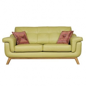 China Living Room Pistachio 'Kandinsky' medium leather sofa on sale