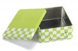 China Customized printed tin box for chocolate on sale