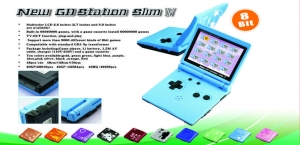 China New GB Station Slim Game Player on sale