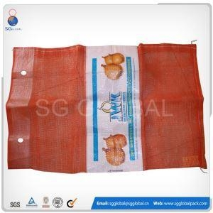 China 15kg 30kg Small Drawstring Net Bags For Fruit on sale