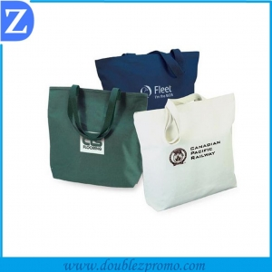 China Customized canvas Tote bag on sale