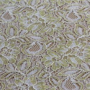 China Non-Stretch Lace Fabric 148CM Nylon Lace Fabric By The Yard (R697) on sale