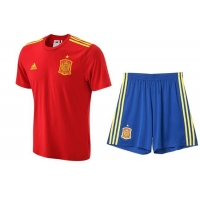 China High Quality Spanish Foot Ball Team Uniforms Soccer Jersey on sale
