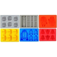 Silicone Ice Tray for Star Wars Lovers or Party Theme Set of 6