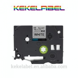 China compatible Brother black on white P-touch Label tape cassette for Label Makers TZe231 TZe-231 on sale