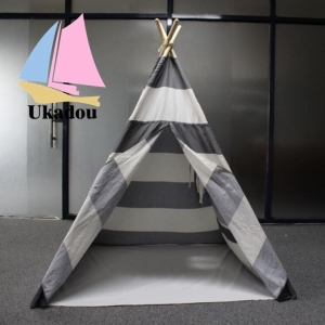 China Hot Sale 100% Cotton Canvas Teepee Native Indian Teepee on sale