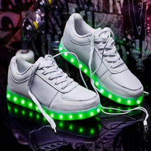 China High Quality Shoes LED Lights LED Strips For Sole Wholesale LED Rope With Rechargeable Battery on sale