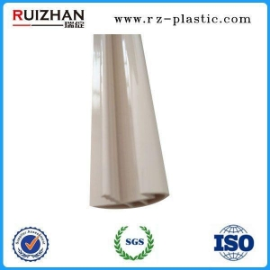 China Plastic profile Customized plastic extrusion profile for door on sale