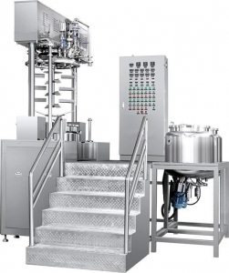 China Vacuum Cosmetic Ointment Mixing Emulsifying Blender Making Machinery Manufacturers Process Machine on sale
