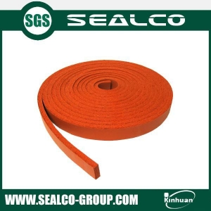 China Silicone foam gaskets on sale