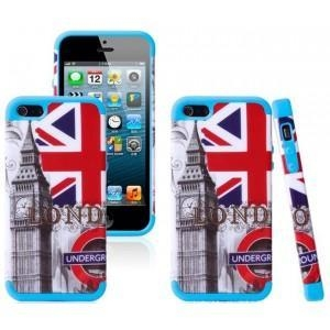 China iPhone 5 5S Hybrid Printing different design Rubber Rugged Combo Matte Case Hard Cover on sale