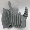 China 3D Animal Head Puzzle- Rhino on sale