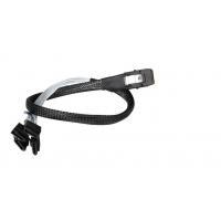Mini SAS 36pin (SFF-8087) w/ Latch to 4 x SATA 7pin Forward Breakout Cable with Nylon Braiding