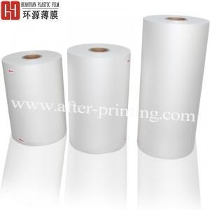 China High Glossy/Shiny/Transparent/Brilliante 22 micron BOPP Thermal Laminating Film on sale