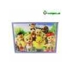 China Sublimation Blanks 3d wooden puzzle for sale