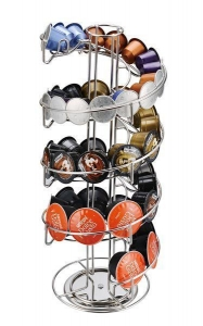 China Stainless Steel Coffee Capsule Holder Can Hold 40PCS Lavazza Mio Capsules on sale