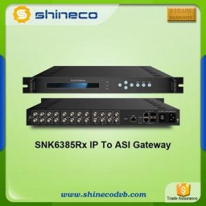 China Chinese Wholesale Distributors Gigabits IP to ASI Gateway on sale