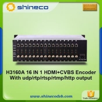 Digital 16 Channels HDMI H.264 Encoder With IP TV