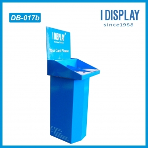 China Advertising cardboard standee paper display stand on sale