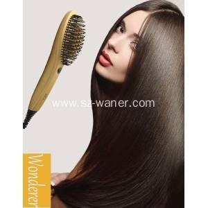 China Best Hair Straightener With Brush on sale