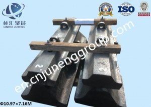 China Semi-autogenous Shell liner on sale