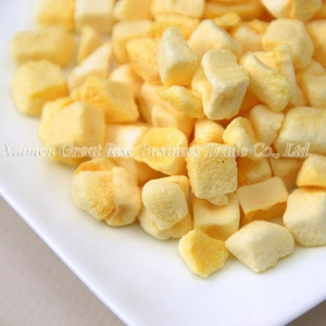 China Freeze Dried Mango Dice on sale