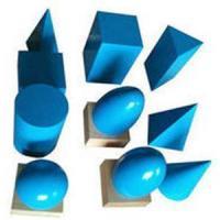 Geometric Solids-blue