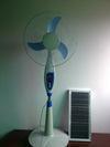 China Solar fan solar ground electric fan on sale