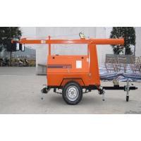 Emergency lighting car trailer