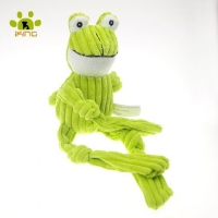 China Plush Corduroy Animal Shape Dog Toys on sale