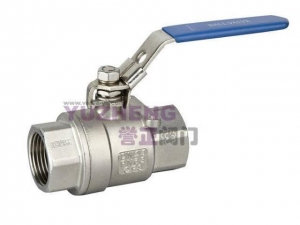 China 2PC Stainless Steel Screw Ball Valve on sale