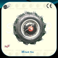 Agricultural Machinery Powered Wheel Motor With Tractor Tire,1DY-D2A