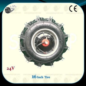 China Agricultural Machinery Powered Wheel Motor With Tractor Tire,1DY-D2A on sale