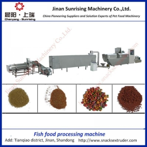 China floating fish feed pellet extruder machine on sale