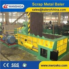 China Side Push Out 160ton Hydraulic Metal Balers Manufacturer with 30 Years Experience on sale