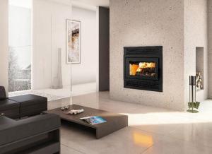 China Wood HE250 Ventis Wood Fireplace on sale