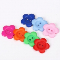 China DIY color plum buttons candy color children deduction hand button on sale