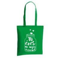 Printed bag 8 oz Natural cotton tote bag