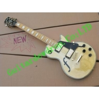 China gibson les pual custom electric guitar milk yellow on sale